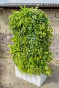 Urban Jungle Deko als Raumtrenner mieten für Grün auf Messe & Event