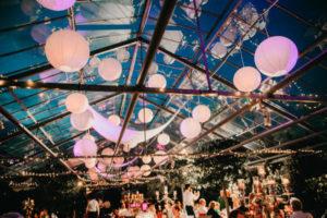 Traumhafte Vintage Hochzeitsfeier in Gewächshaus in Karben / Wetterau