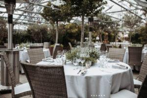 Hochzeit im Gewächshaus Nähe Frankfurt auch bei Regen ein Erlebnis