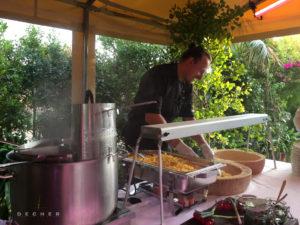 Bestes Catering von FlowTheKitchen Frankfurt für Hochzeit im Glashaus